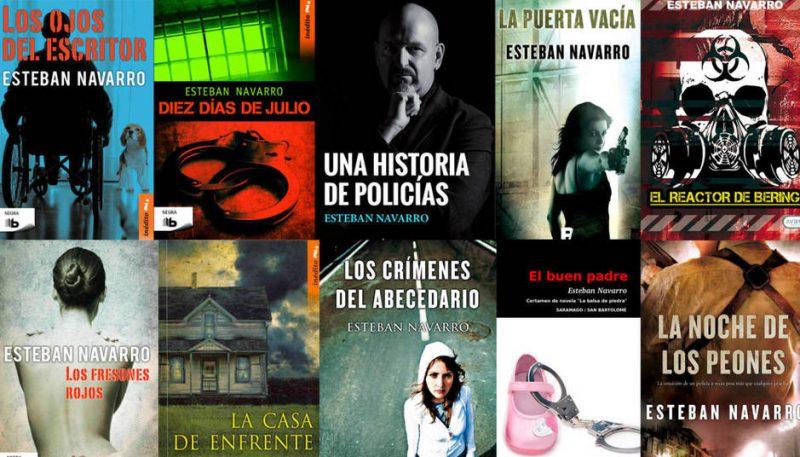 Esteban Navarro: Escritor de novela negra, policía y fundador de la Generación Kindle.