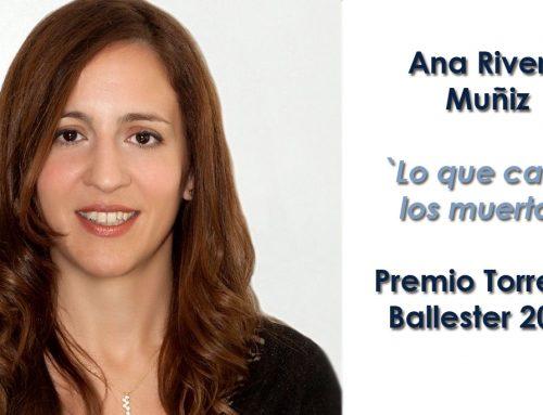 Ana Rivera Muñiz, Premio Torrente Ballester