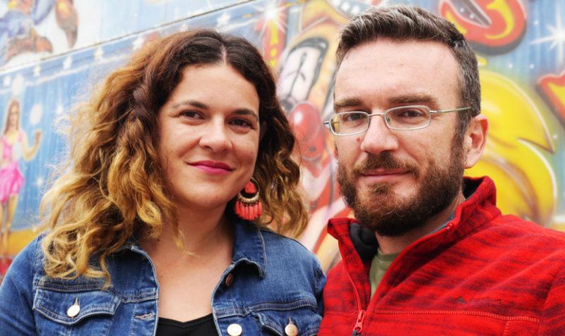 Ganadores del Concurso Amazon Indie 2016: Ana Ballabriga y David Zaplana.