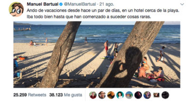 Con este tuit empezó el primer relato viral en Twitter y el fenómeno Tuiteratura.