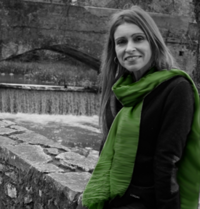Rosa Valle, autora invitada en la Semana Negra de Gijón.