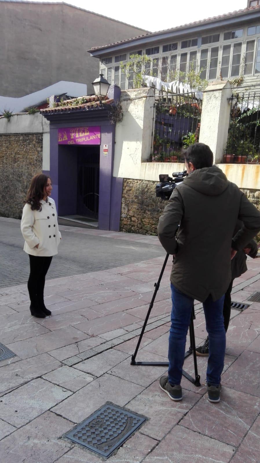 En los informativos Televisión Principado de Asturias el 28/02/2019