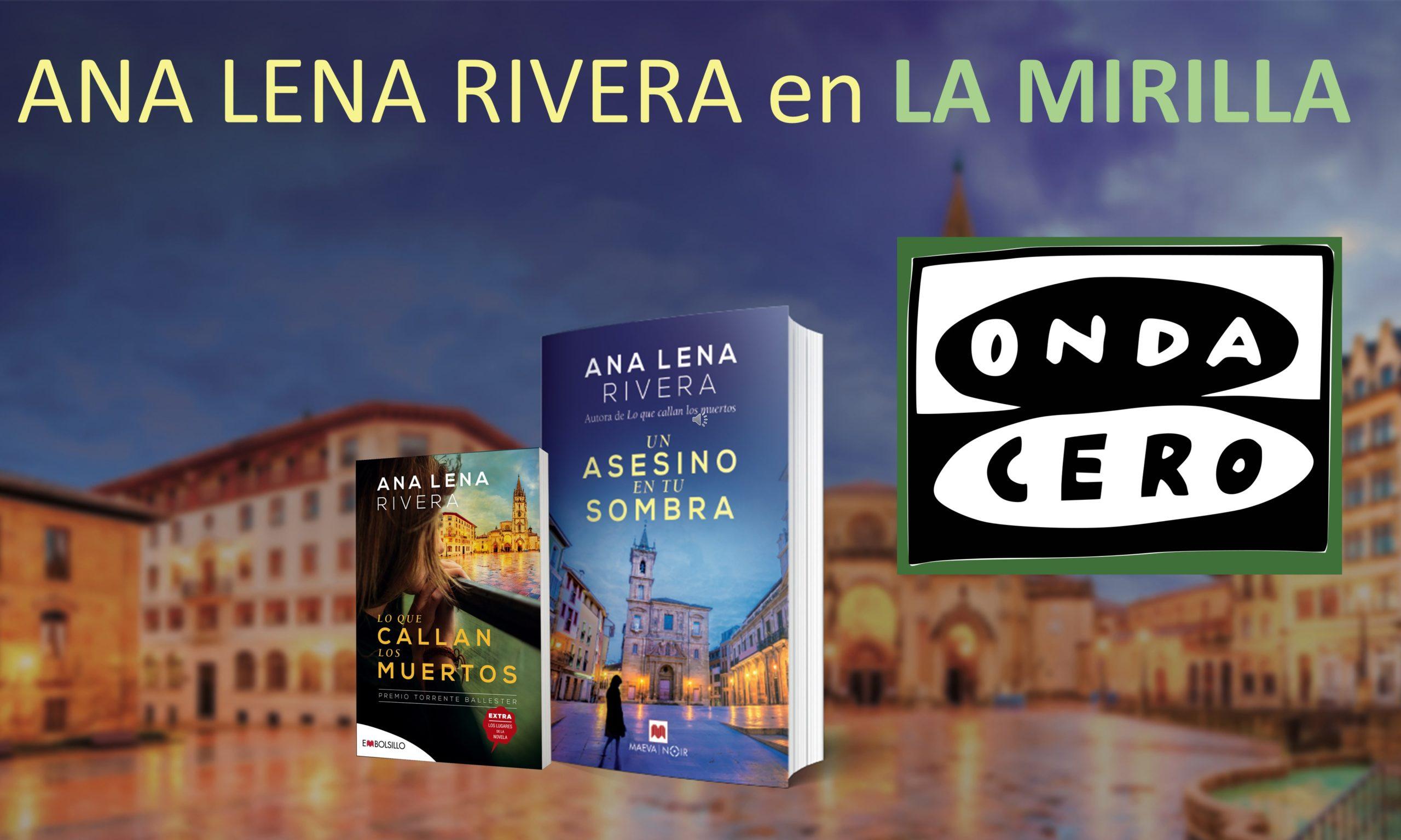Entrevista en La Mirilla Onda Cero con Raquel Sánchez. 05/04/2020
